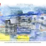 AL Darnets - Programme des vacances d'avril 2018
