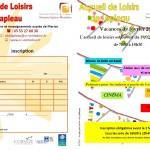 AL Lapleau - Programme des vacances de février 2018