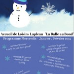 AL Lapleau programme janv-fév 2019