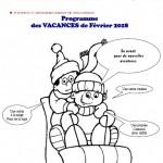 AL Marcillac - Programme des vacances de février 2018