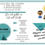 AL Montaignac - Programme de juillet 2018