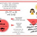 AL Montaignac - Programme dernière semaine août 2018