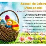 AL Montaignac - Programme des vacances d'avril 2018