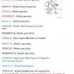 RAPE - Programme des ateliers de juin