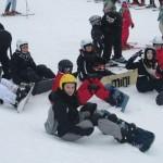 Sortie neige organisée par l'Espace Jeunes