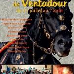 Affiche du Festival de Ventadour 2016 (Corrèze)