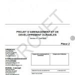 Projet de PADD - PLUI CC VEM