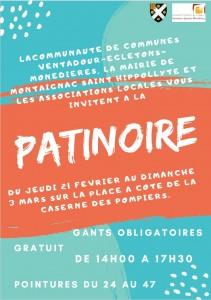 affiche patinoire 2019